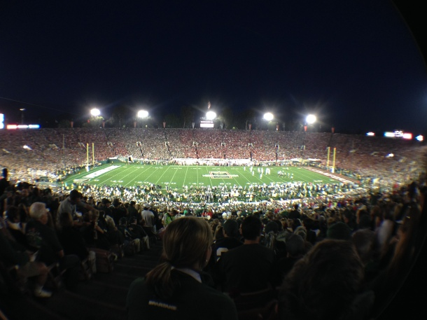 Rose Bowl Stadium - Fisheye
